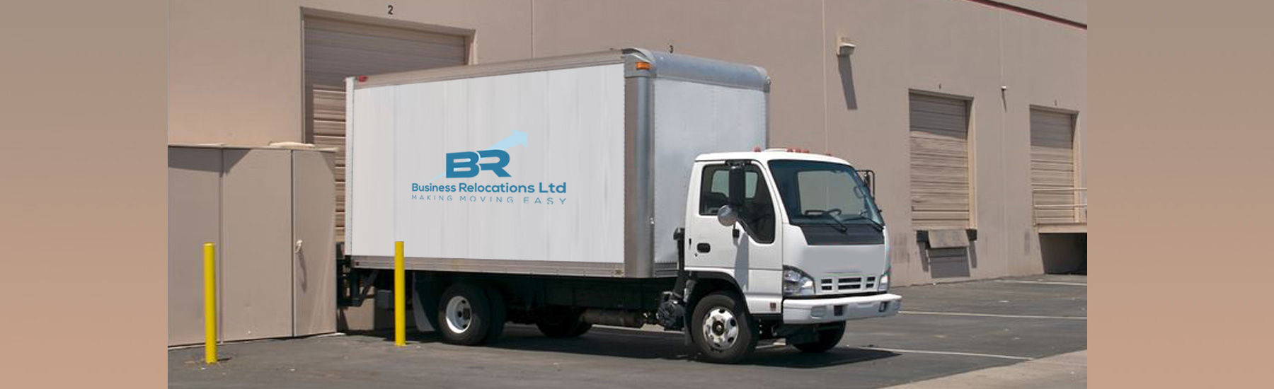 Business relocations truck
