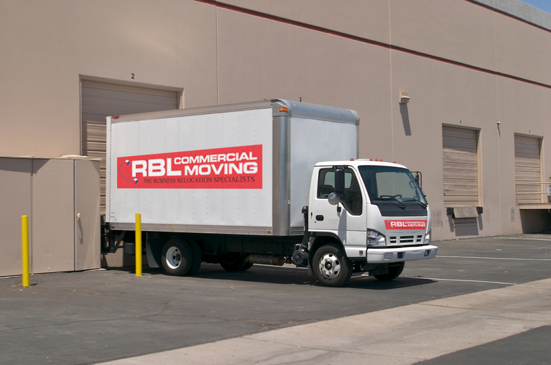 RBL commercial moving truck