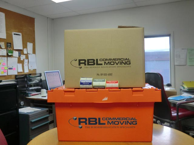 RBL commercial moving boxes