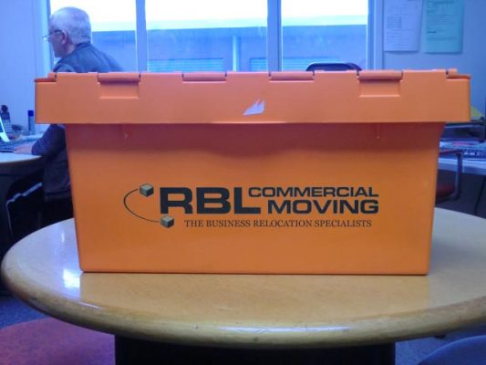 RBL commercial moving box